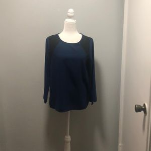 J.CREW long sleeve blouse size 6